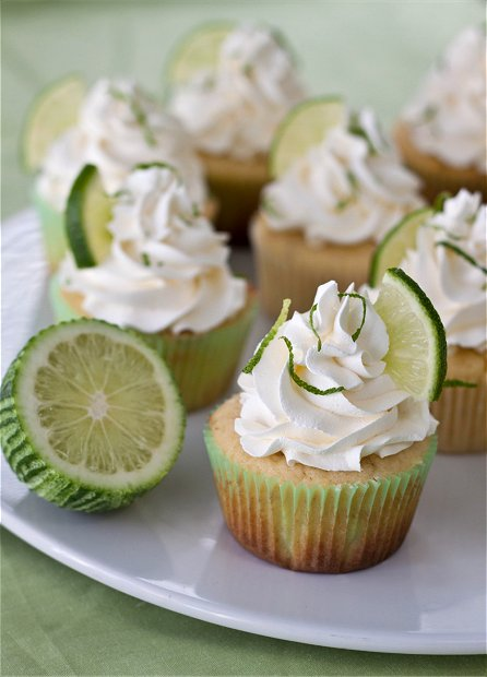 Margarita Cupcakes | Tide and Thyme