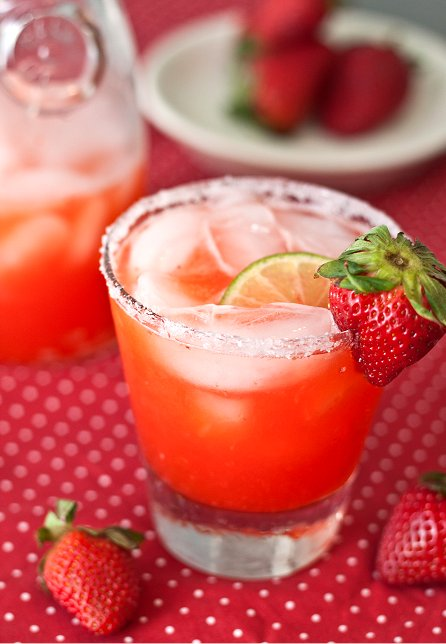 Strawberry Margaritas Tide Thyme