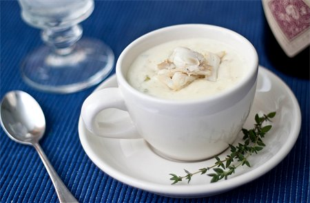 Cream Of Crab Soup Tide Thyme