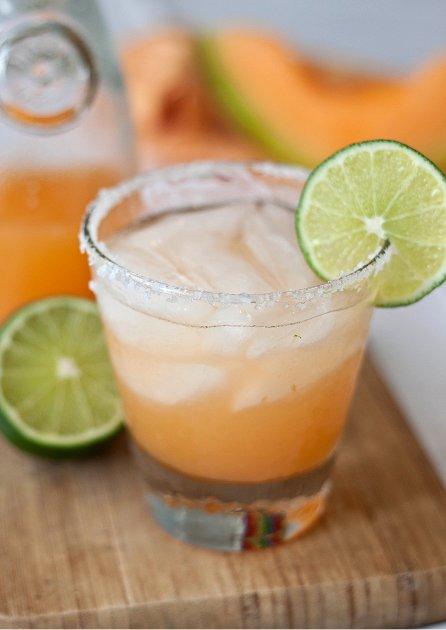 Cantaloupe Margaritas » Tide & Thyme