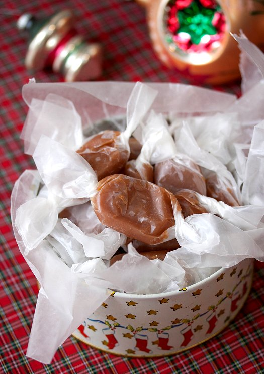 Vanilla Bean Caramels | Tide and Thyme
