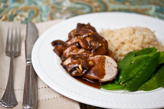 Pork Tenderloin Marsala