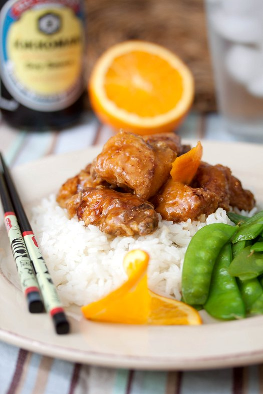 Take Out Fake Out: Orange Chicken