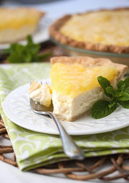 Ricotta-Pineapple Pie