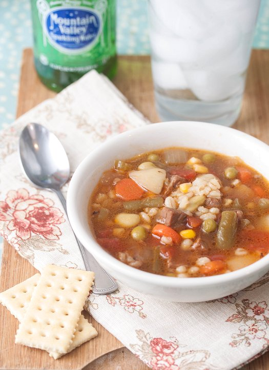 Vegetable Beef & Barley Soup
