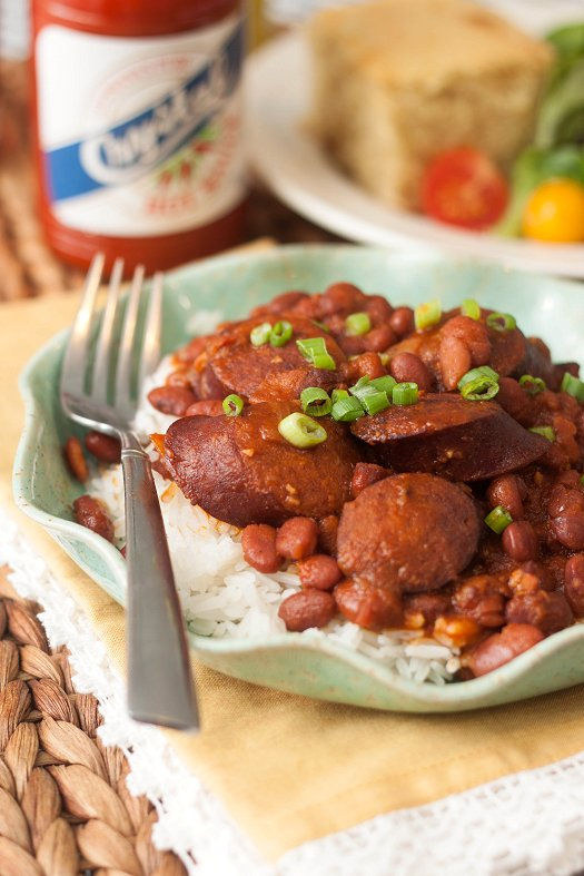 Red Beans & Rice (Slow Cooker)