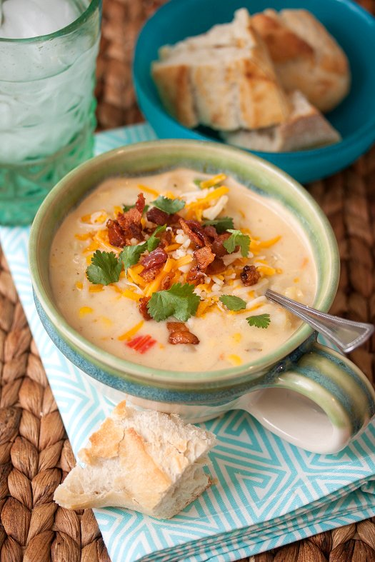 Southwest Potato & Corn Chowder