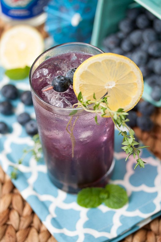 Blueberry Smash Recipe — Dishmaps