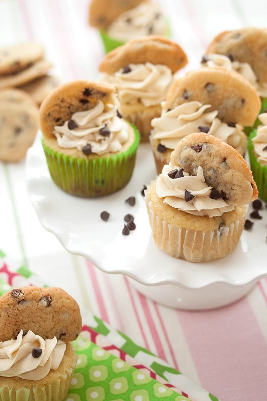 Chocolate chip cookie cupcake recipes