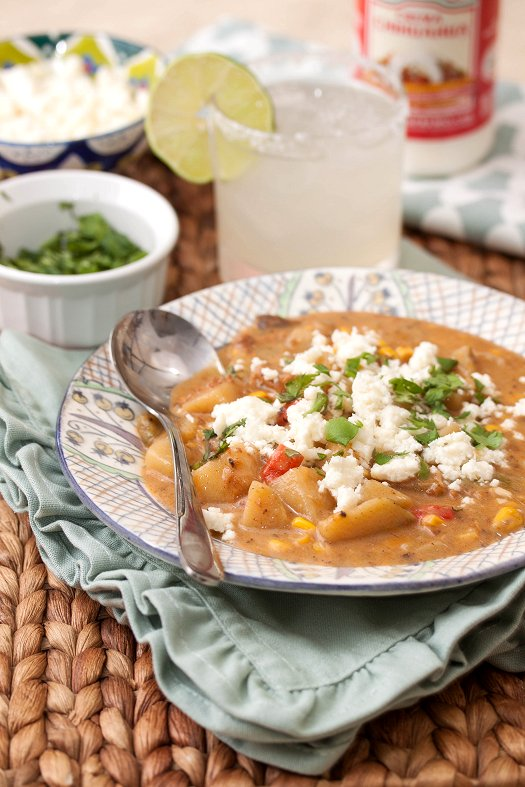 Mexican Chorizo and Corn Chowder