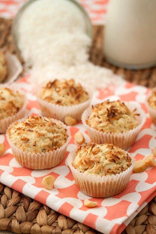 Coconut Macadamia Muffins